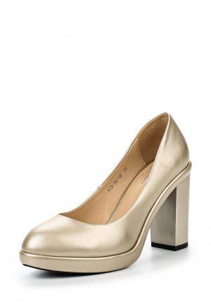 Туфли Dino Ricci Select. Цвет: золотой