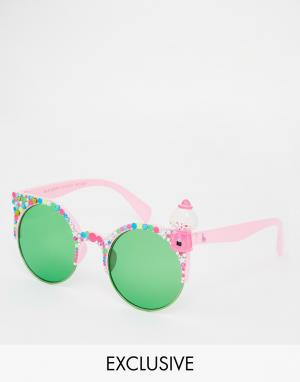 Spangled Солнцезащитные очки Gum Ball Betty