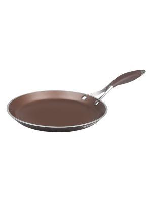 Сковорода RONDELL. Цвет: темно-коричневый