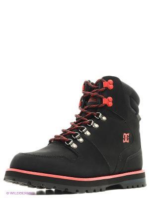 Ботинки DC Shoes. Цвет: красный