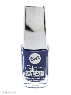 Устойчивый лак для ногтей с глянцевым эффектом Glam Wear, тон 520 Bell. Цвет: темно-синий