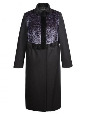 Пальто KR. Цвет: черный