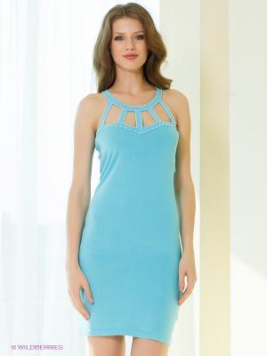 Платье Sparkle. Цвет: голубой