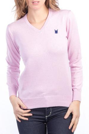 Пуловер POLO CLUB С.H.A.. Цвет: pink