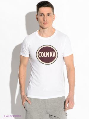 Футболка Colmar. Цвет: белый