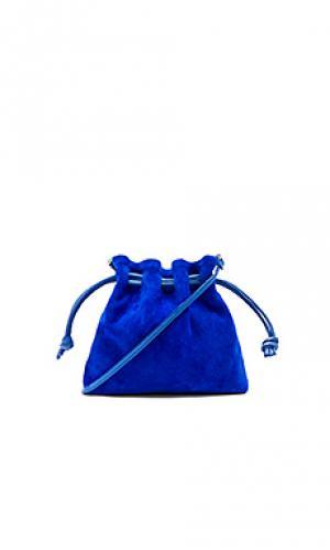 Маленькая сумка henri maison Clare V.. Цвет: королевский синий