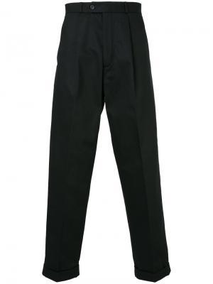 Классические брюки свободного кроя Éditions M.R. Цвет: чёрный