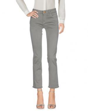 Повседневные брюки DL1961. Цвет: серый