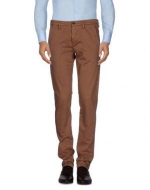 Повседневные брюки MASSIMO REBECCHI. Цвет: верблюжий