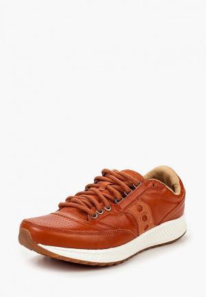 Кроссовки Saucony. Цвет: оранжевый