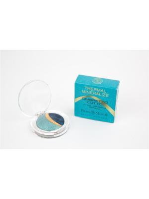 Минеральные запеченные тени Frais Monde на основе сернистой термальной воды Repole №5. Цвет: бирюзовый, золотистый, темно-синий