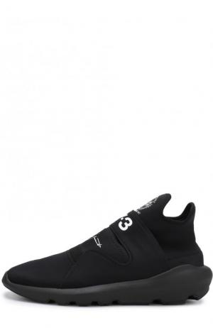 Текстильные кроссовки Suberou без шнуровки Y-3. Цвет: черный
