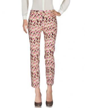Повседневные брюки MÊME by GIAB'S. Цвет: розовый