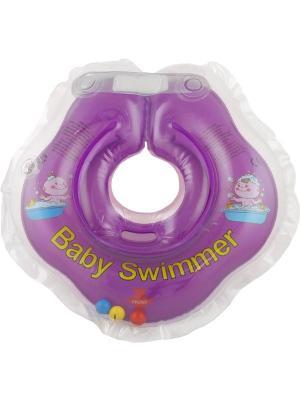 Круг фиолетовый Baby Swimmer. Цвет: фиолетовый