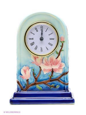 Часы настольные Pavone. Цвет: голубой, синий, зеленый, коричневый, розовый