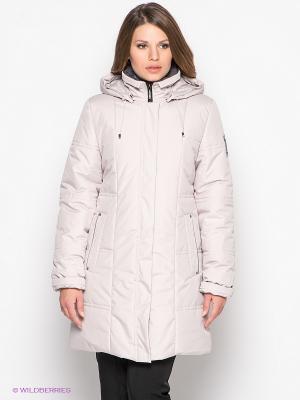 Куртка AMY Maritta. Цвет: молочный