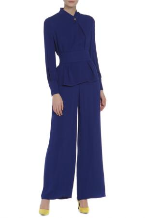 Костюм: блуза, брюки Adzhedo. Цвет: ультрамариновый