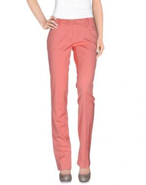 Повседневные брюки CRISTINAEFFE COLLECTION. Цвет: лососево-розовый