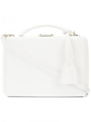 Маленькая сумка Grace Mark Cross. Цвет: белый