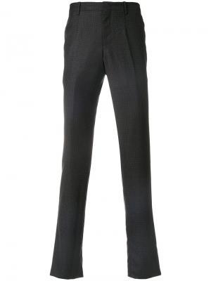 Классические брюки Wooyoungmi. Цвет: синий