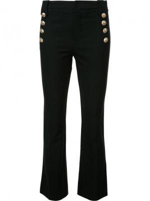 Укороченные брюки Derek Lam 10 Crosby. Цвет: чёрный