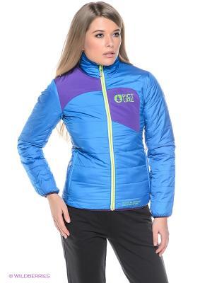 Куртка Picture Organic. Цвет: синий