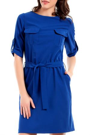 Платье BeWear. Цвет: синий