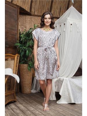 Платье Laete. Цвет: светло-серый
