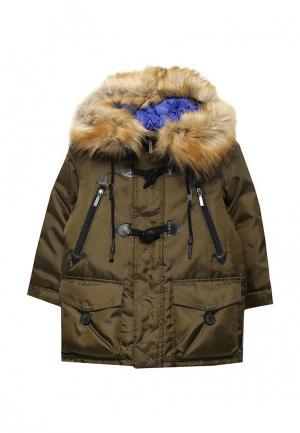 Куртка утепленная Boom. Цвет: хаки