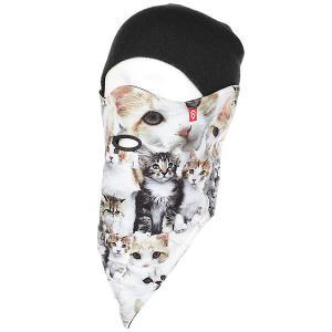 Маска женская  2 Layer Meow Airhole. Цвет: мультиколор
