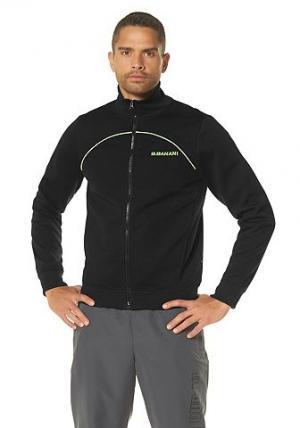 Спортивная куртка Bruno Banani. Цвет: черный