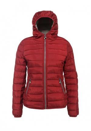 Куртка утепленная Minority. Цвет: бордовый