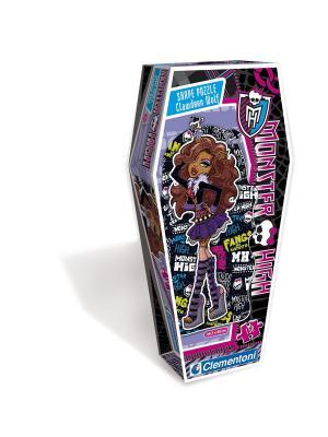 Clementoni. Monster High Клодин Вульф. Пазл Фигурный. Clementoni. Цвет: черный, синий, розовый