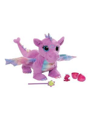 Игрушка BABY born Дракон функциональный, дисплей ZAPF. Цвет: сиреневый, розовый