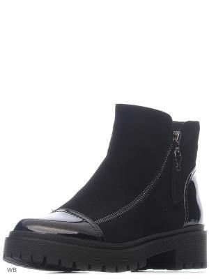 Ботинки BONETTI. Цвет: черный