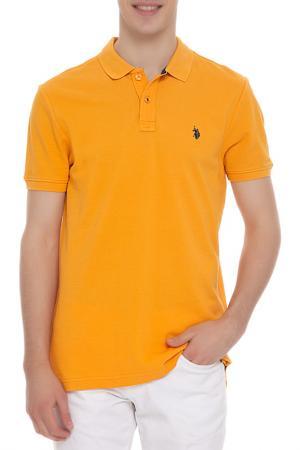 Футболка U.S. Polo Assn.. Цвет: 827 желтый