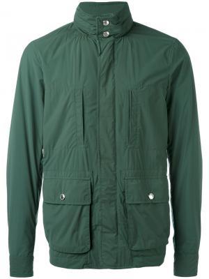 Куртка-ветровка Kired. Цвет: зелёный