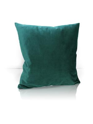 Декоративная подушка Solemare Kauffort. Цвет: темно-зеленый