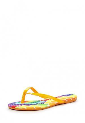 Шлепанцы Librapop. Цвет: оранжевый