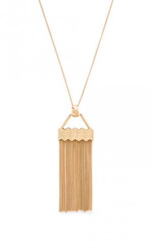 Ожерелье power rays Ettika. Цвет: металлический золотой