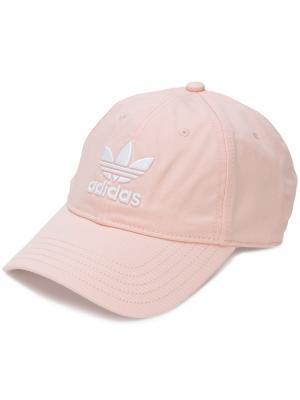Кепка  Originals Trefoil Adidas. Цвет: розовый и фиолетовый