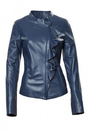 Куртка Grafinia. Цвет: синий