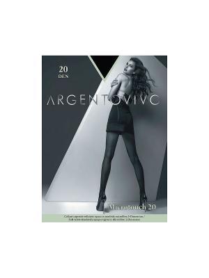 Колготки Microtouch 20 Argentovivo. Цвет: черный