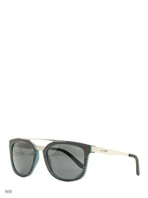 Очки солнцезащитные ARNETTE. Цвет: серо-голубой, белый
