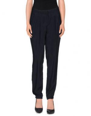 Повседневные брюки CAPPELLINI by PESERICO. Цвет: темно-синий