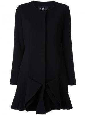 Платье с круглым вырезом Goen.J. Цвет: чёрный