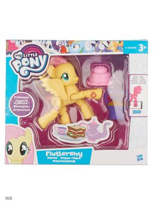 Пони с артикуляцией My Little Pony. Цвет: кремовый