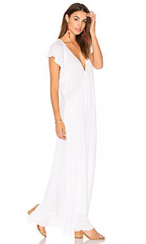 Платье tyler TAVIK Swimwear. Цвет: белый
