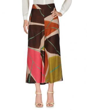 Повседневные брюки MALÌPARMI M.U.S.T.. Цвет: темно-коричневый
