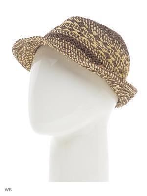Шляпа Luhta. Цвет: коричневый